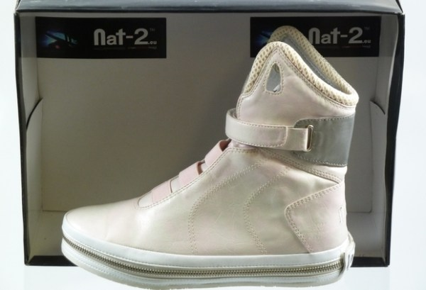 "Genuine Imitation Nike Air Mag: Nat-2 Future ""Metallic Skin"" the not-so Back to the Future shoes."
