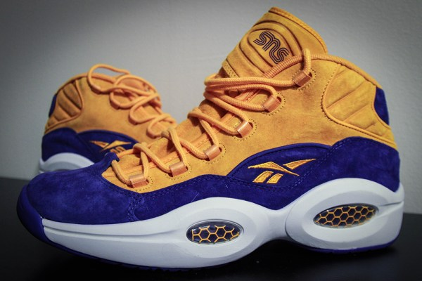 "Sneakersnstuff x Reebok Question ""Crocus"""