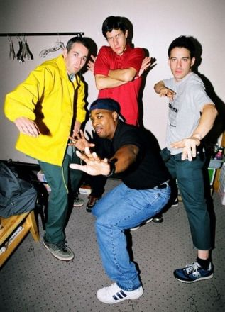 Chuck D and the Beastie Boys, 1998 MTV VMAs. Photo by Jeff Kravitz. (Speaking Your Truth)