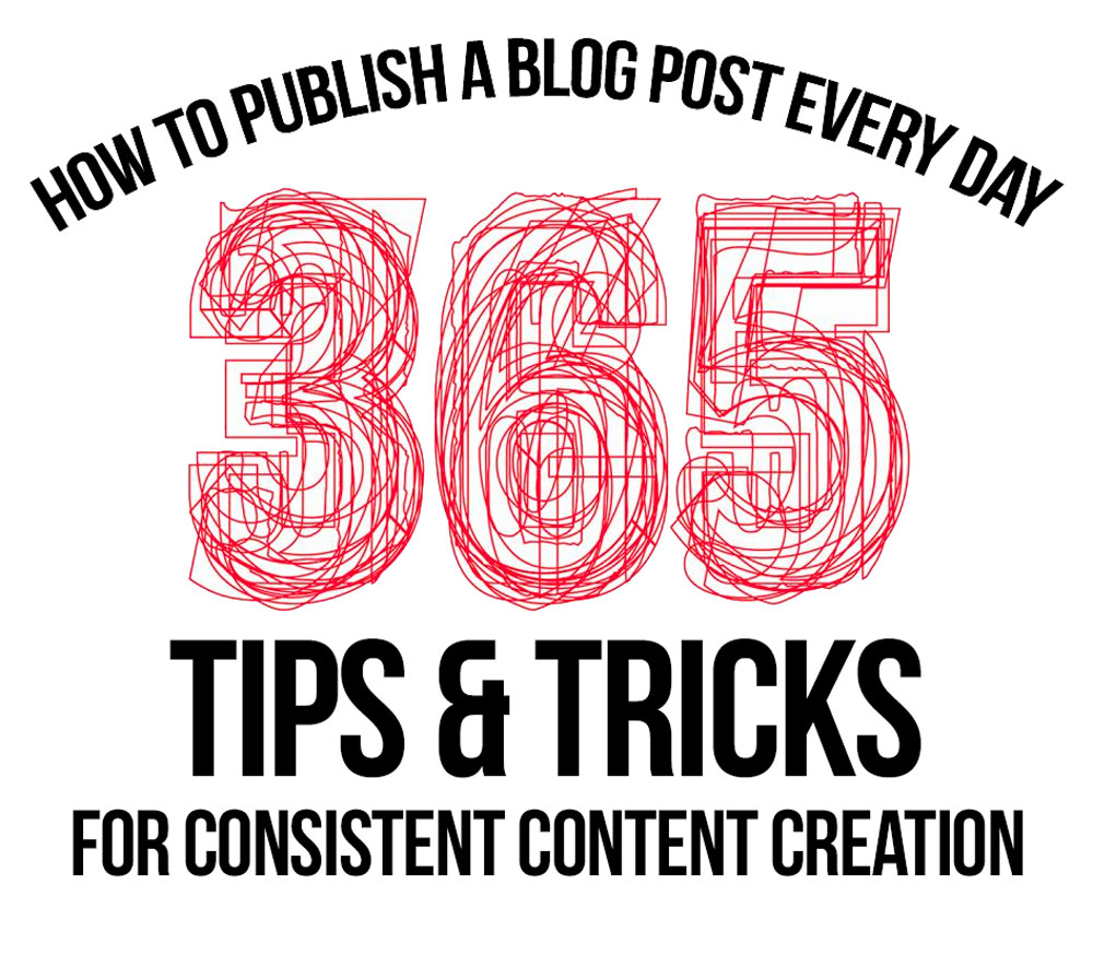 How To Publish A Blog Post Every Day - Tips and Tricks For Consistent Daily Posting To Blogs and Social Media
