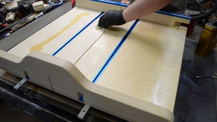 45 Degree Table Saw Sled