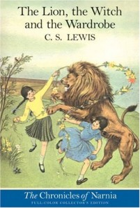 Aslan Dances with Lucy and Susan