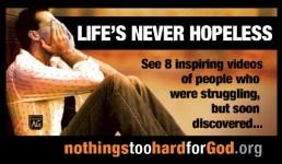 The Power of Christ for the Hopeless