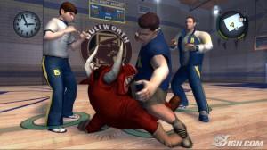 """Bullies beat up the """"bull""""y mascot"""