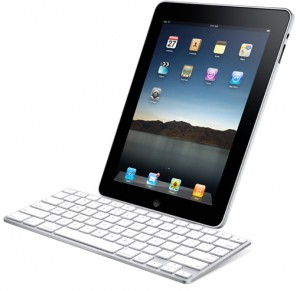 iPad on the Keyboard Dock.