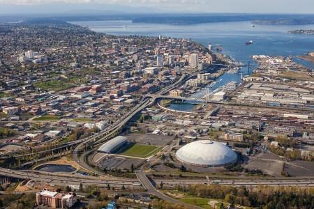 Tacoma aerial photography