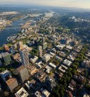 Portland OR aerial photography