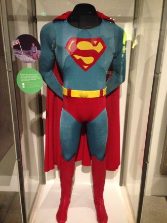Super Man, worn by Christopher Reeves.