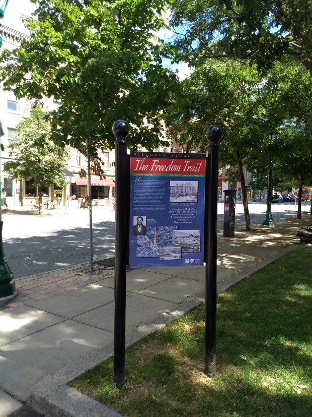 Freedom Trail Sign