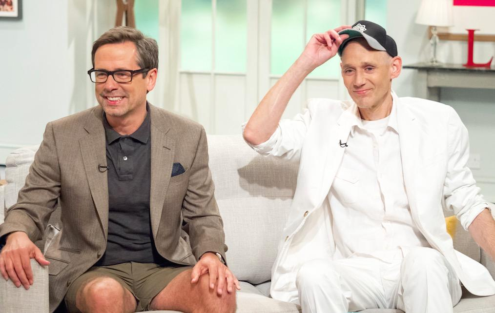 NIck Heyward & Ben Volpeliere-Pierrot appearing on the Lorraine show to promote the 80s Invasion Tour in March 2016.