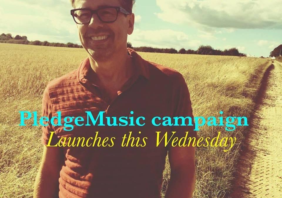 PledgeMusic campaign launching this Wednesday