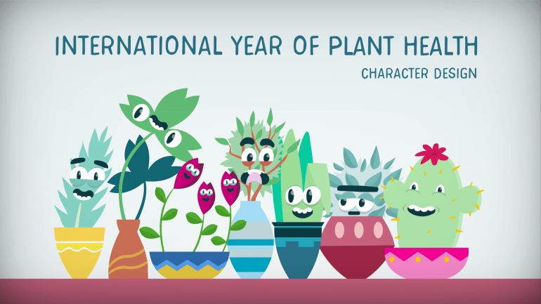 International Year of Plant Health: Characters