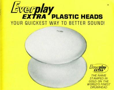 Everplay Extra heads catalogue 1966