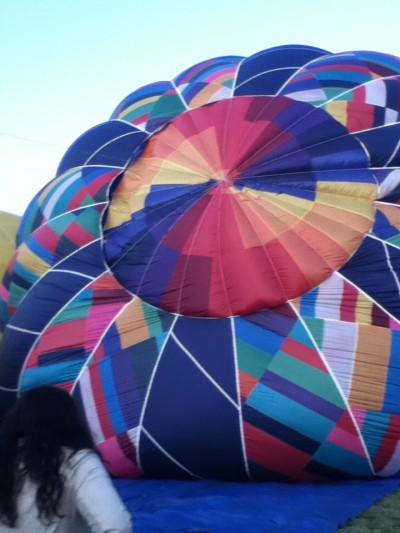hot air balloon, Prosser, WA, 2011