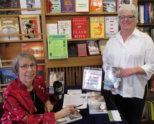 Edmonds Bookshop with Mary Kay, 6-14-14