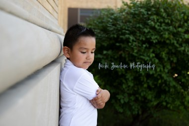 young boy outdoor child portrait by MN family and child photographer Nicki Joachim Photography of Owatonna Minnesota