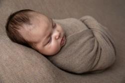 newborn baby boy in beautiful infant portrait by MN Newborn Photographer Nicki Joachim Photography of Owatonna, Minnesota (5)