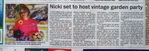Nicki MacRae Press Coverage - Ross-shire Journal - 7th June 2012
