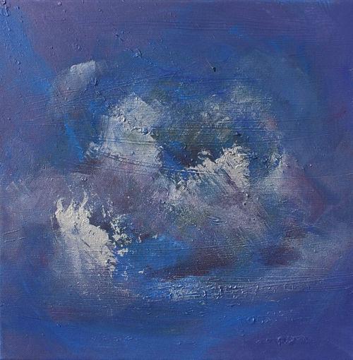 'Treasures Beneath 7' original painting by Nicki MacRae