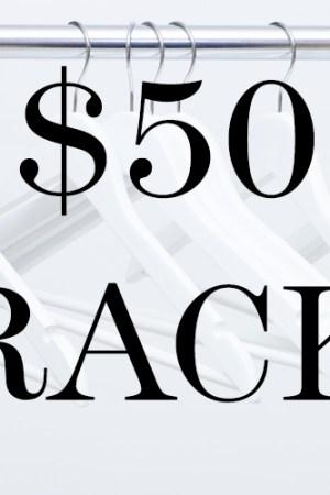 $50 rack