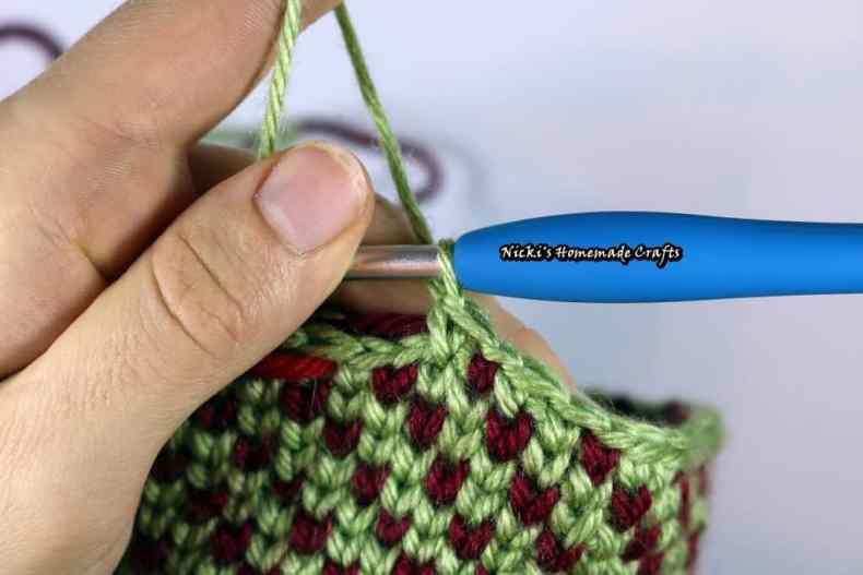 Waistcoat Stitch aka Knit Stitch Crochet Tutorial