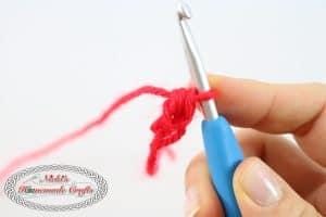 Foundation Half Double Crochet