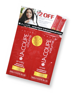 Free Sample of LaCoupe Shampoo/Conditioner