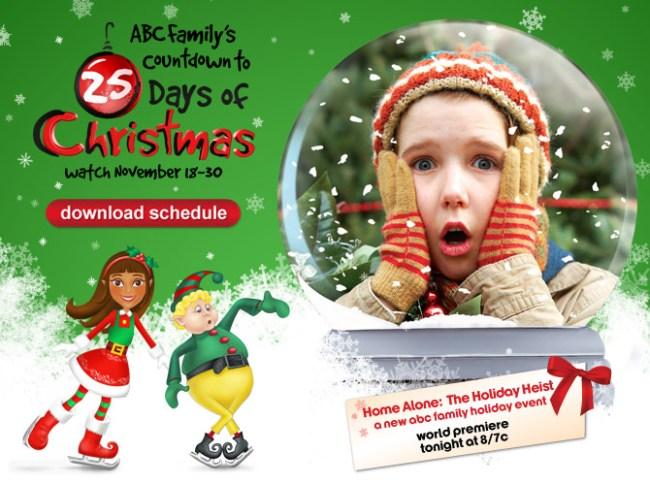 Countdown to ABC Family's Christmas