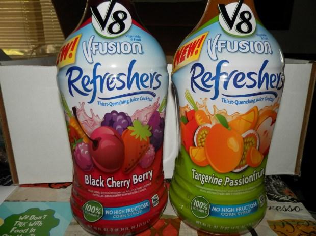 V8 V-Fusion Refreshers