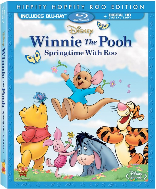 Winnie The Pooh: Springtime With Roo Coming to Blu Ray