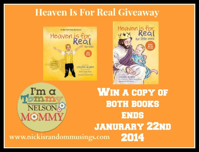 Heaven Is For Real Movie Coming In April & A Giveaway Too