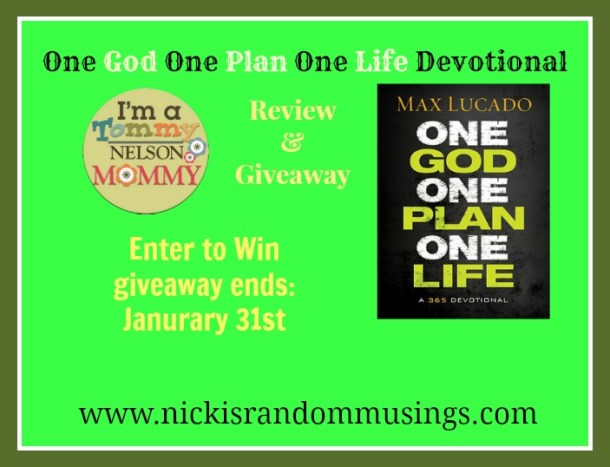 one god giveaway