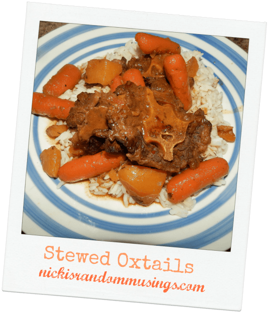 Stewed Oxtails Recipe
