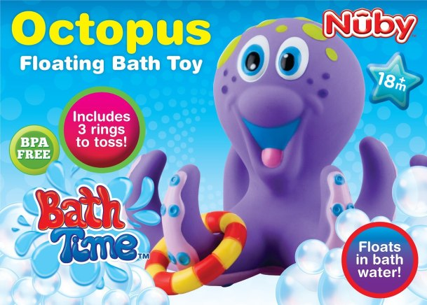 Octopus Floating Bath Toy Review