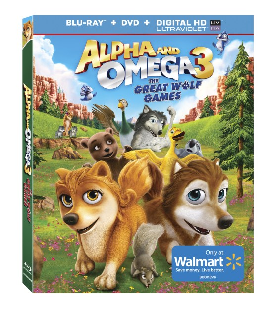 Alpha & Omega 3 The Great Wolf Games on Sale 3/25
