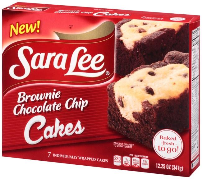 Sara Lee Chocolate Chip Snack Cake Review