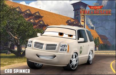 Disney Planes: Fire & Rescue Cad Spinner