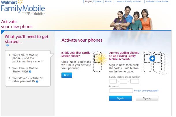 family mobile