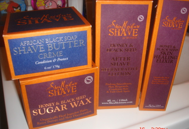 Shea Moisture Women's Shave Collection Review