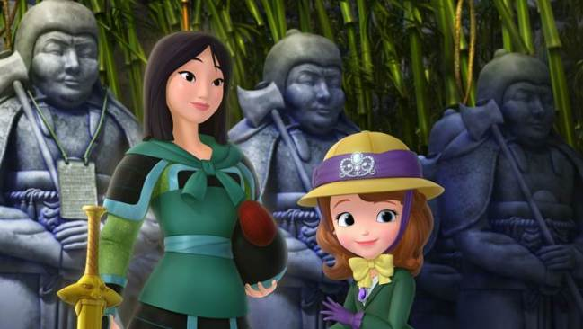 Mulan Makes Special Appearance On Sofia The First