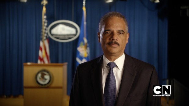 AG Eric Holder I SPEAK UP