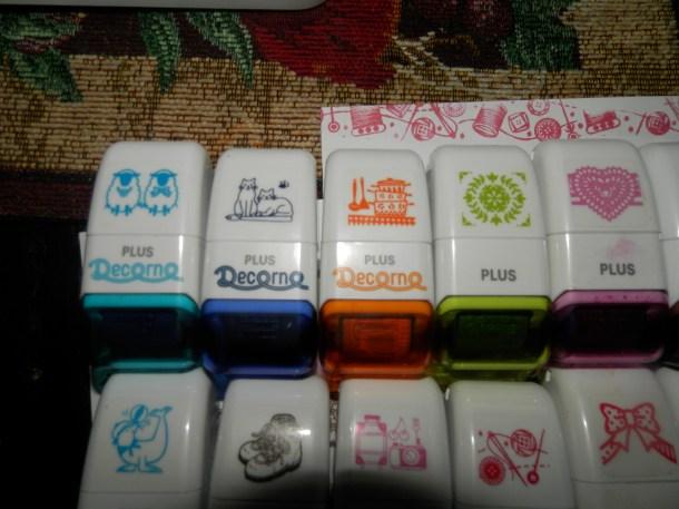 Cute Rolli Stamps