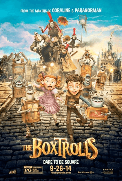 Free Event for Kids: Boxtrolls Cardboard Challenge
