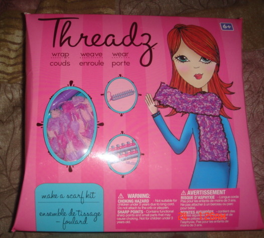 Threadz Make A Scarf Kit Review