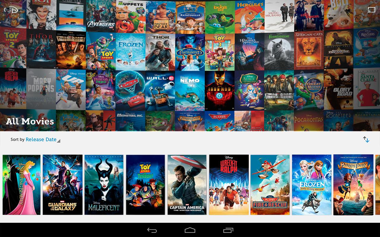 Disney Movies Anywhere Available on Google Play | Nicki's