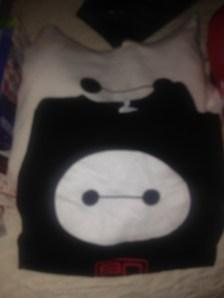 Baymax Hoodie and Baymax T-Shirt
