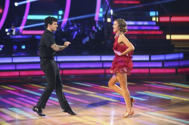 "DANCING WITH THE STARS - ""Episode 1908""(ABC/Adam Taylor) MARK BALLAS, SADIE ROBERTSON"