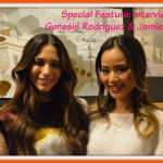 Interview with Genesis Rodriguez and Jamie Chung #BigHero6Event
