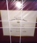 Custom Diploma Frame