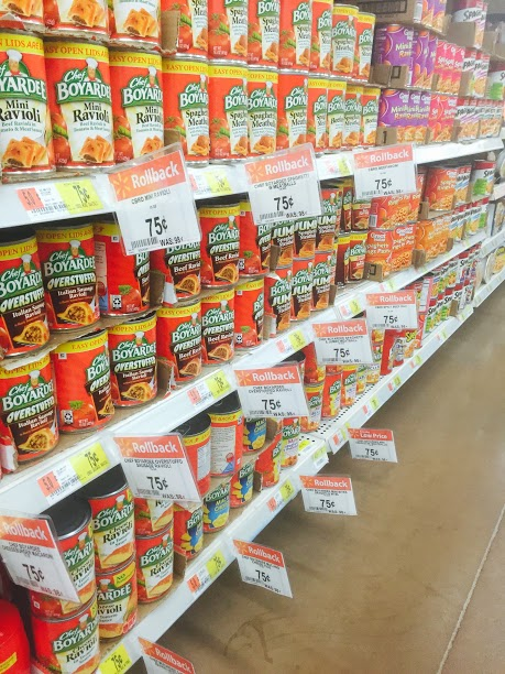 Stock Up On Chef Boyardee on Rollback at Walmart #LowPriceMeals #ad